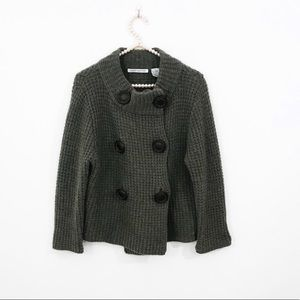 Autumn Cashmere Closed Button Cardigan
